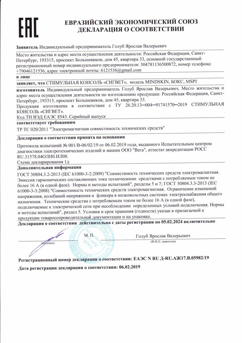 Декларация-MINDSKIN