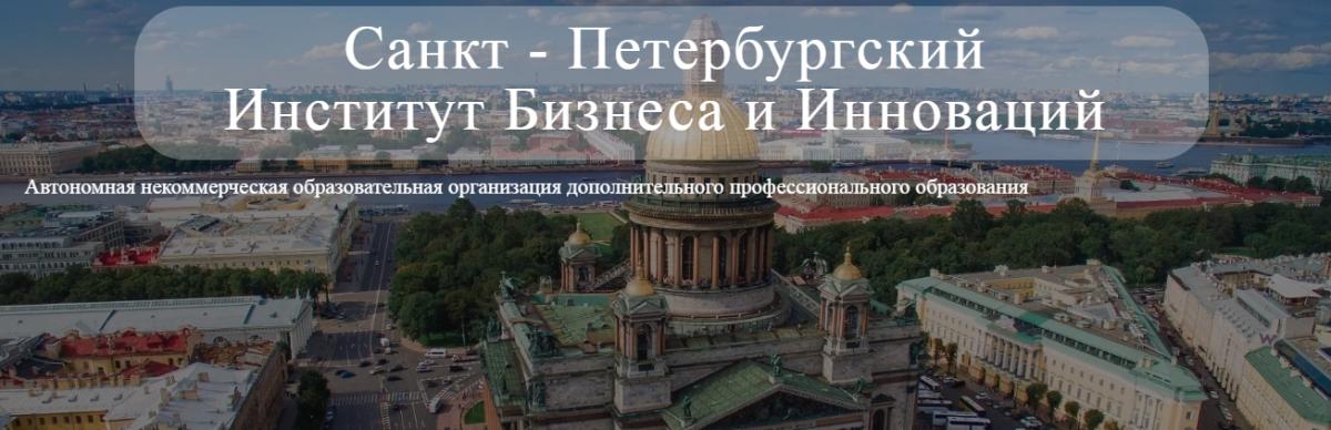 Санкт-Петербургского Института Бизнеса и Инноваций ИБИН